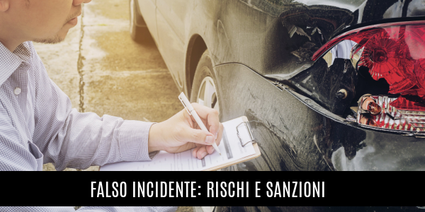 falso incidente sanzioni