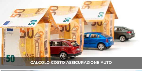 calcolo costo assicurazione auto