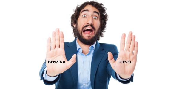 stop auto benzina diesel