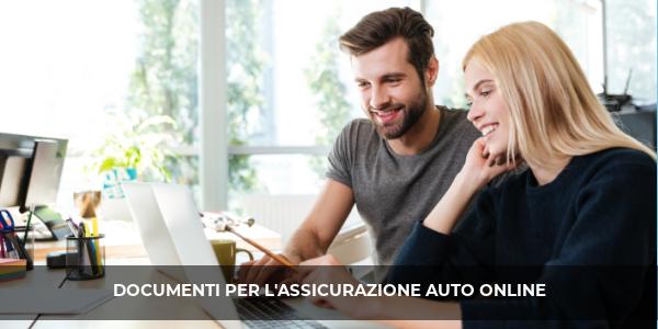 documenti assicurazione auto online